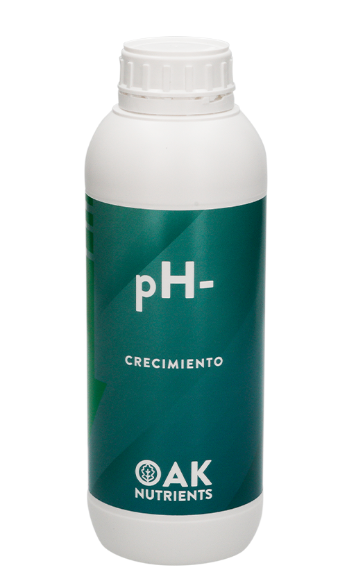 Reductor pH- Crecimiento de OAK Nutrients