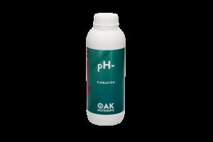 Reductor pH- Floración de OAK Nutrients